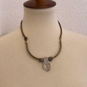 Jewelry - Beautiful Vintage Quartz Necklace